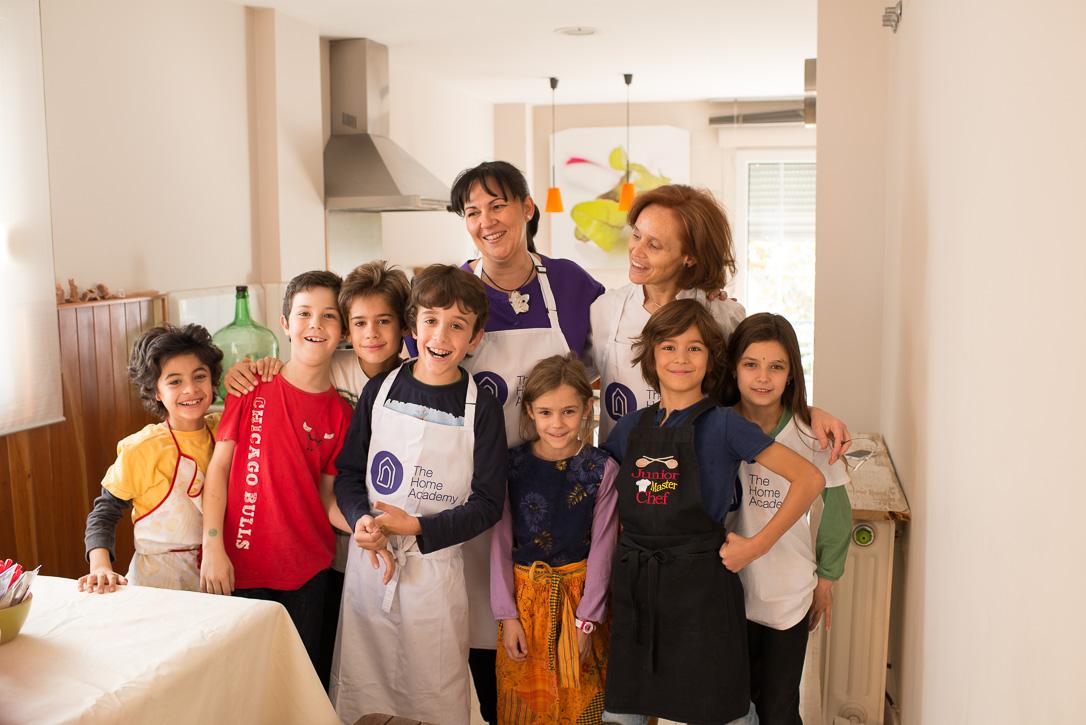 The Home Academy cocina y niños