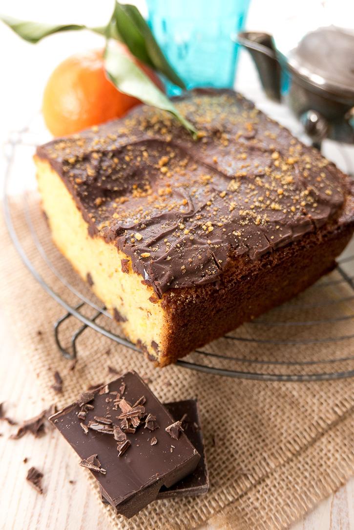 The Home Academy bizcocho chocolate